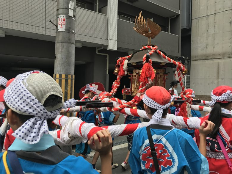 7月17日 滝川天神こどもみこしを開催しました。
